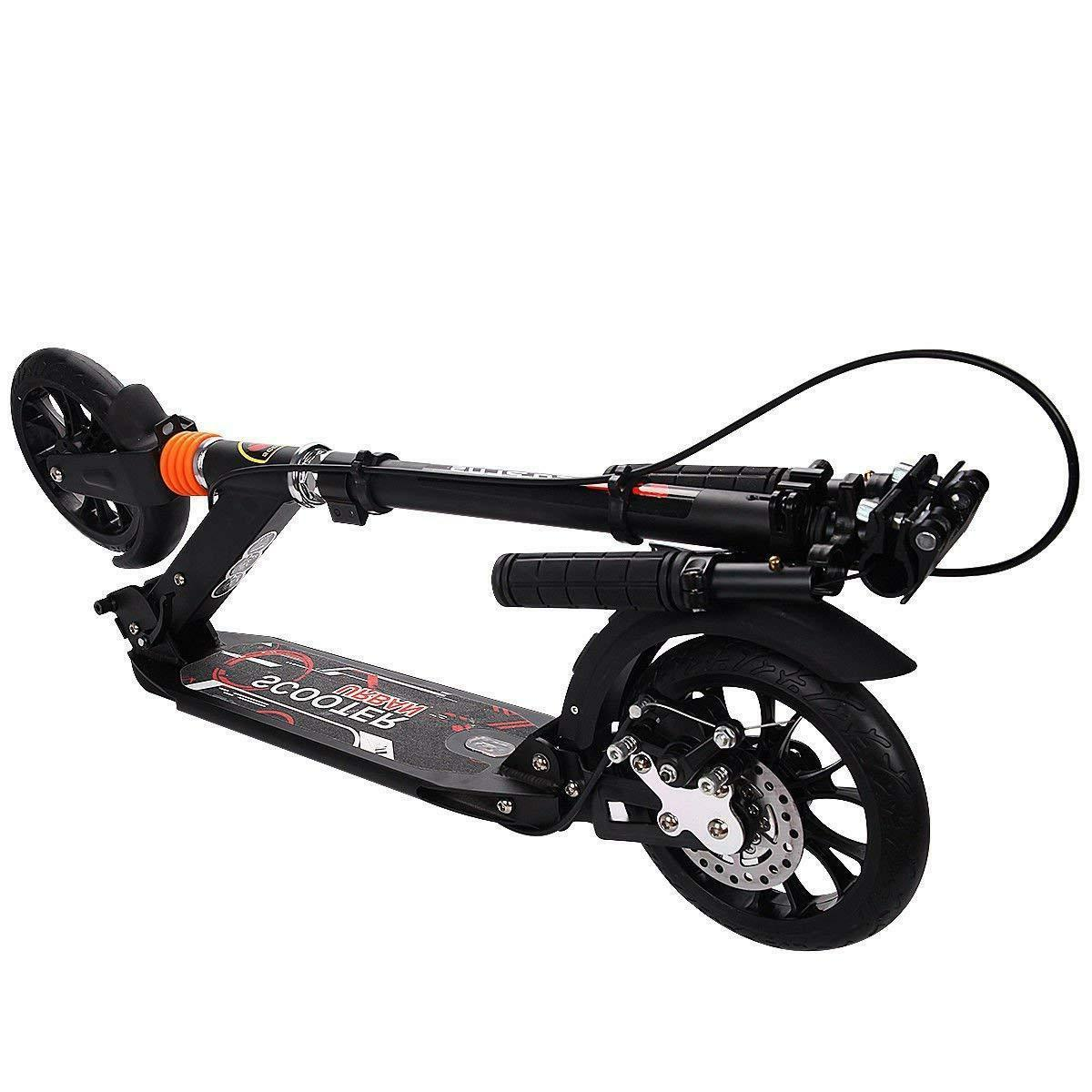 Adult Scooter with Handbrake Dual Height,