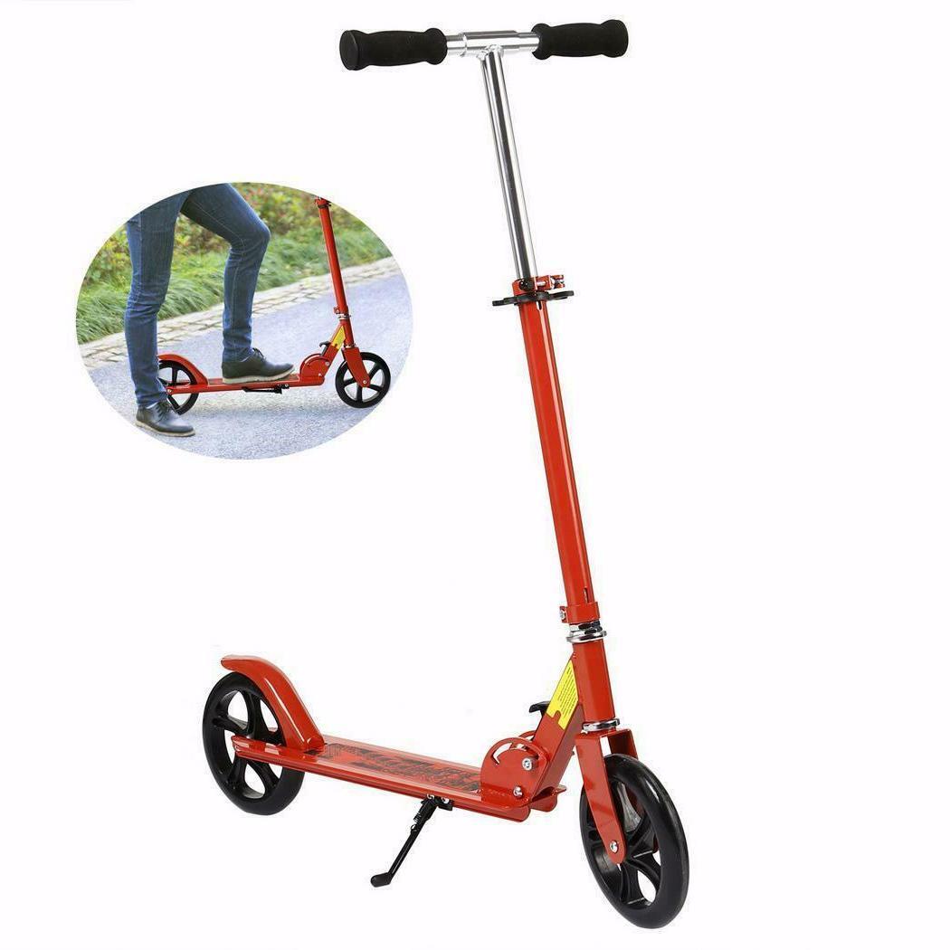 Adult Scooter Teenager Foldable 3 2-Wheel Kick SUNA
