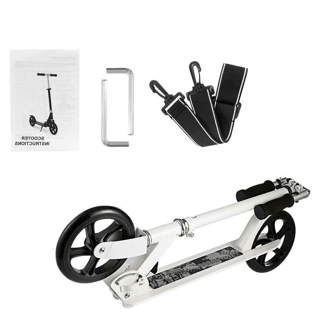 Adult Scooter Teenager Foldable  3 Levels Adjustable Height