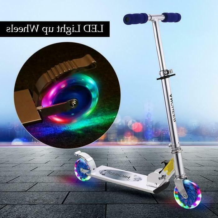 Kid Kick Scooter Trick Stunt Pro Razor Outdoor Ride Lightwei