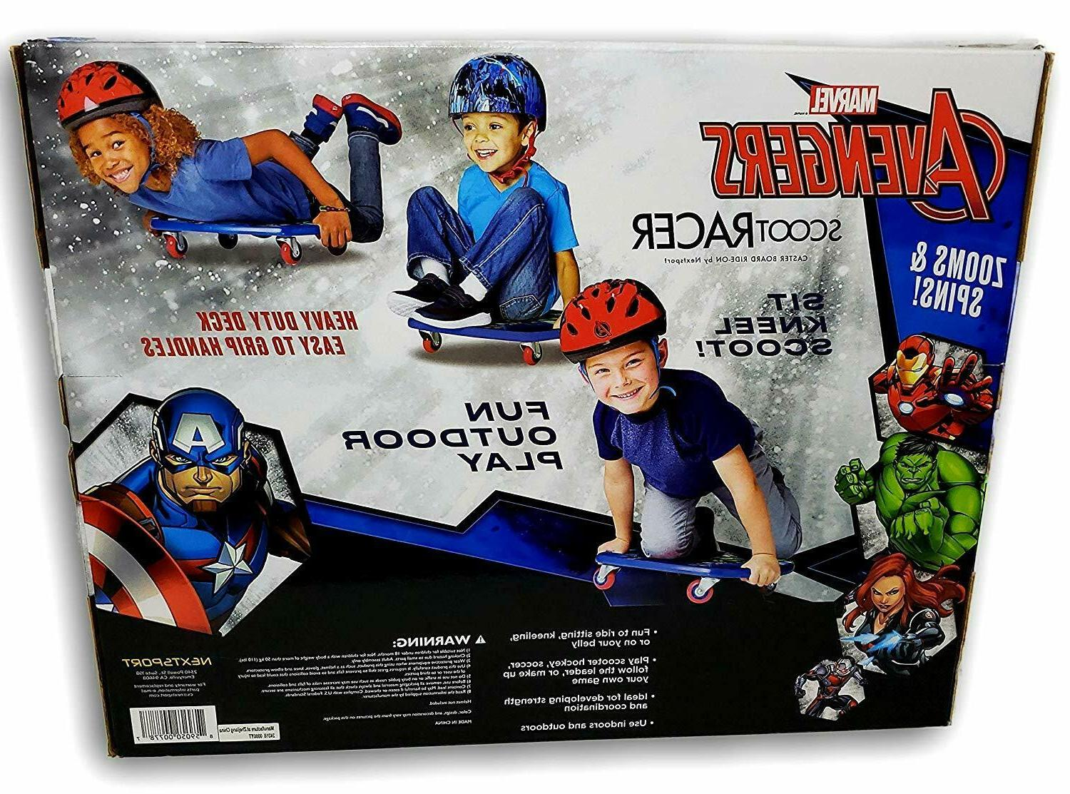 Avengers Caster Board Ride-On Roller Casters