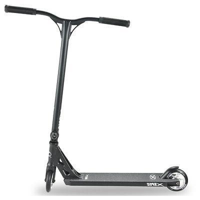 Xspec Black Chrome Stunt Skatepark BMX