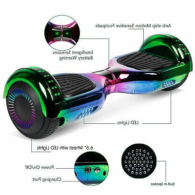 6.5/8.5'' Electric Scooter Bluetooth Speaker LED Certified