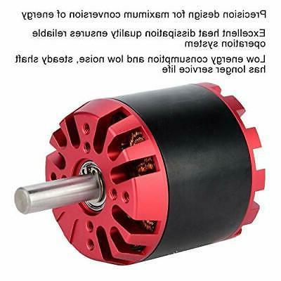 Alomejor Brushless Sensorless 6364-200KV Brushless Motor for Electric