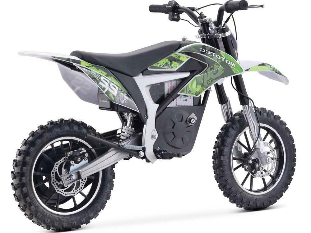MotoTec Electric Bike 500w 36v Green
