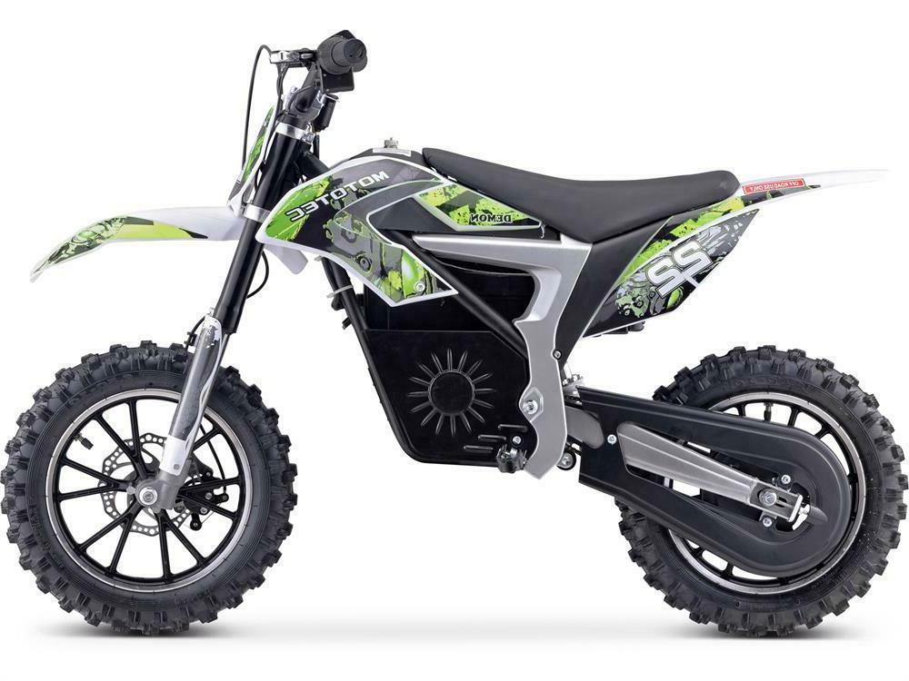 MotoTec Bike 36v Lithium Green