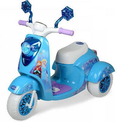 On Kids Toy Bike Elsa Battery