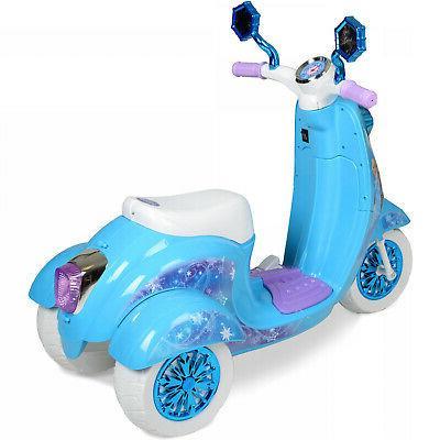 Disney On Toy Bike Elsa Anna Battery Electric