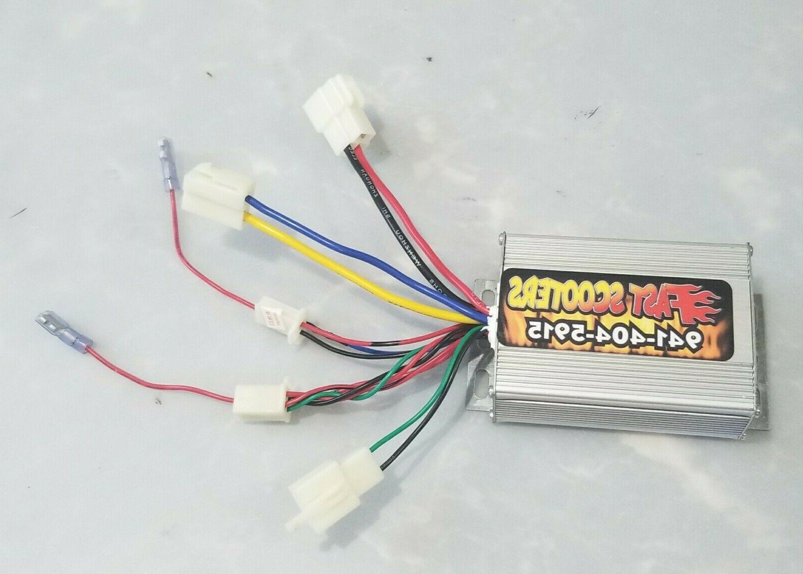 Razor E300 & E200 Variable and Controller,Electrical