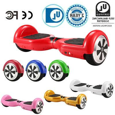 electric hoverboard bluetooth smart self balancing scooter