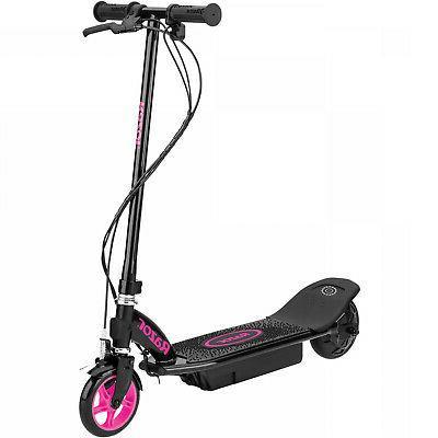 Electric-Powered Scooter Wheel Drive 80 Run 10 Razor New