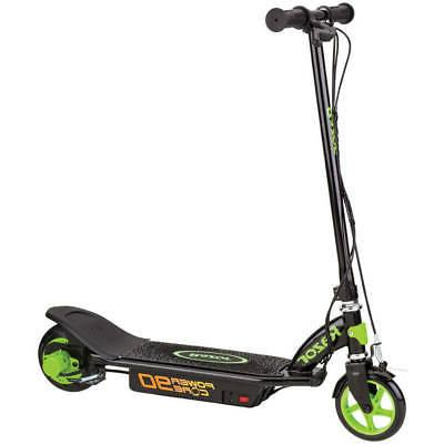 electric powered scooter with rear wheel drive