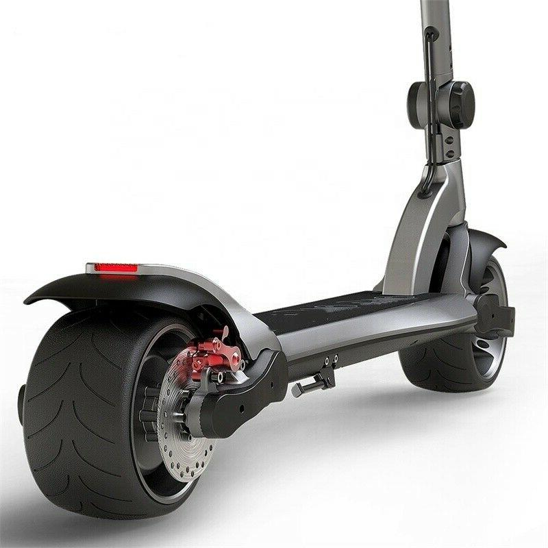 electric scooter dual motor 13 2ah wide