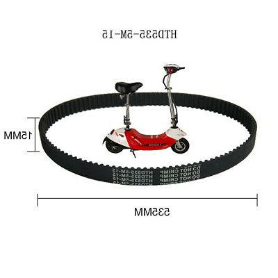 Black Timing Belt Engine Equipment No Rubber Accessories