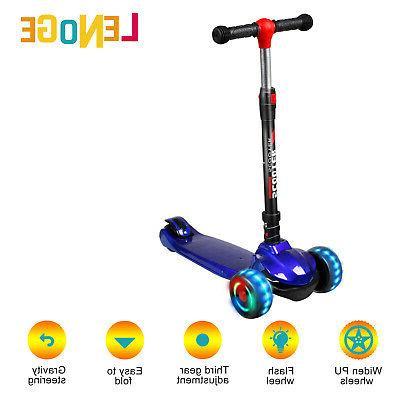 Kids Scooter Child 3 Wheel Folding