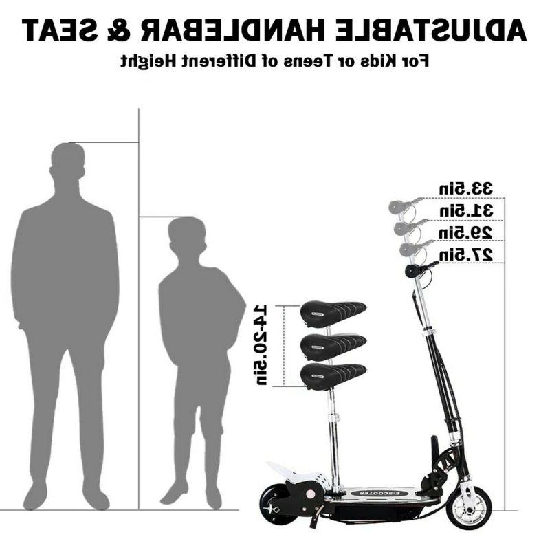 Electric Balance Folding Bike On Outdoor For