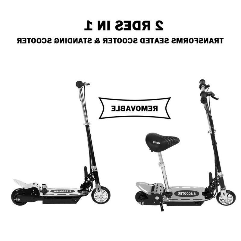Electric Bike Balance Scooter Folding Motorized On Outdoor