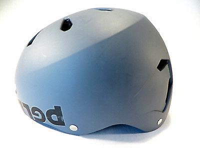 Bern Helmet Skateboarding Cycling BMX Bike Scooter Gray XL59-60.5cm New