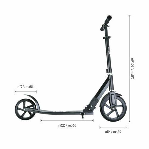 Adult Folding Scooter Hight-Adjustable With Shoulder