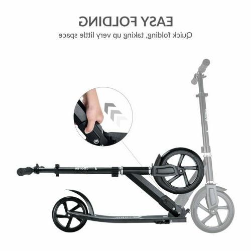 Adult Folding Hight-Adjustable Wheels With Shoulder