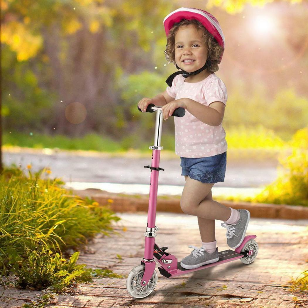 Adult/Kids Kick Stunt Ride Lightweight Aluminum