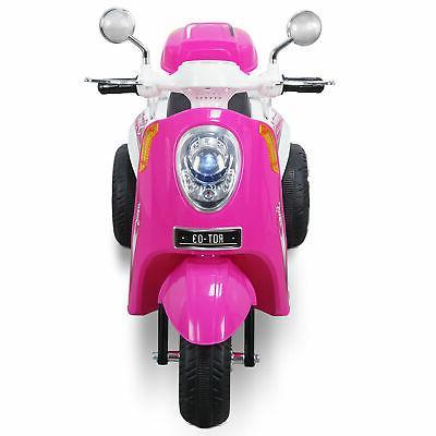 Kids Ride-on Scooter Toy Bike Motorbike Battery Powered