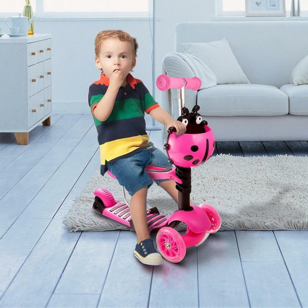 Kids Scooter Age 3-8 Kick Scooters Girls Wheels