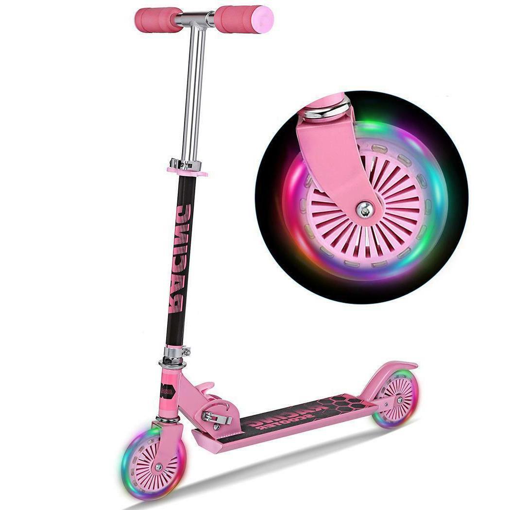 Kids Age 3-8 Scooters Girls Wheels