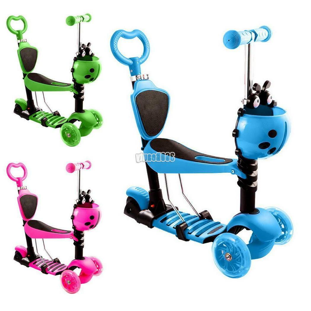 Kids Deluxe Age Scooters Girls Boys 3~LED Wheels