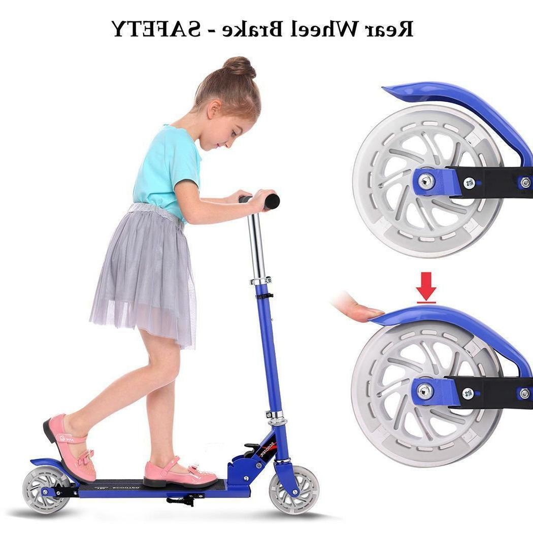 Kids Deluxe for Age 3-8 Scooters Girls Boys Wheels