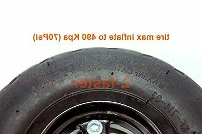 L-faster 6X2 Inflation Tire Wheel Use Alloy 160mm