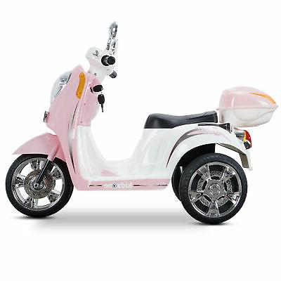 Light Pink Scooter Powered Electric Bicyle Horn