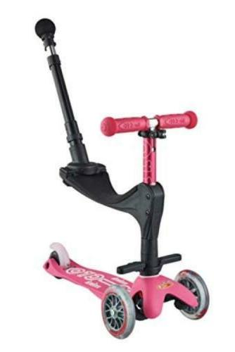 Micro Mini 3in1 Deluxe Plus 3-Stage Ride-on Kick Scooter w/