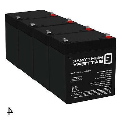 mighty max 12v 5ah sla battery
