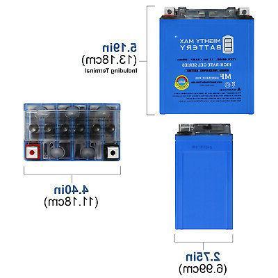 Mighty 12V 100CCA GEL Battery Batteries