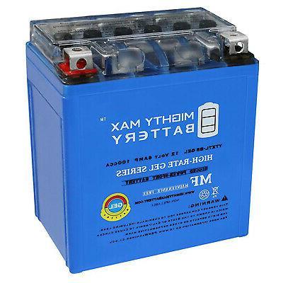 mighty max 12v 6ah 100cca gel battery