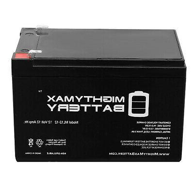 Mighty Max - 12V Battery Pride GoGo