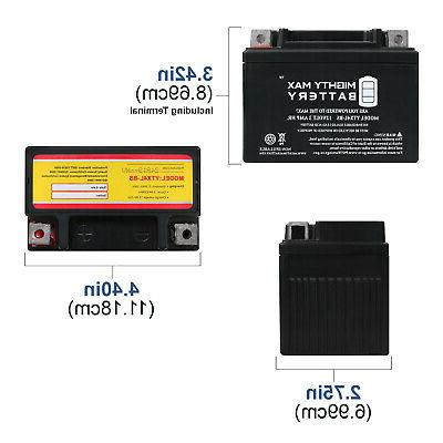 Mighty Max YTX4L-BS for SB50 88-'90