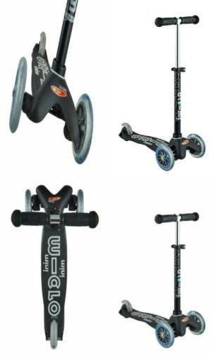 Mini Deluxe 3-Wheeled Lean-to-Steer Swiss-Designed Micro Sco