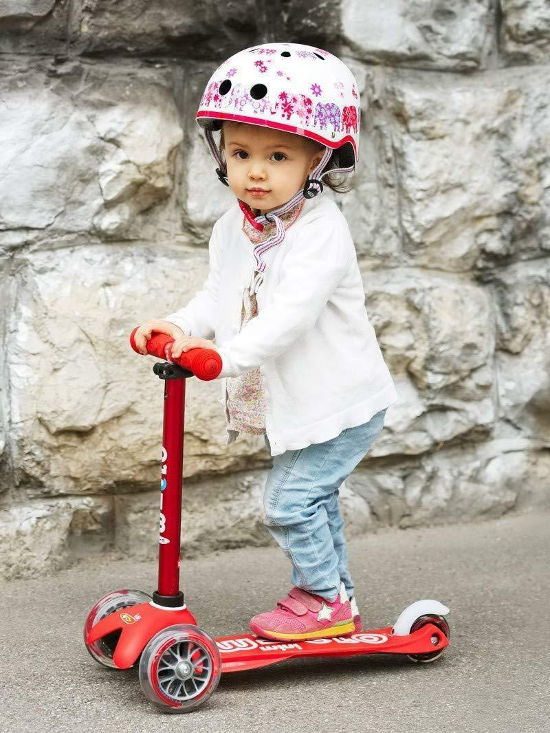 Mini Deluxe Kick Scooter adjustable T-bar For Children Ages