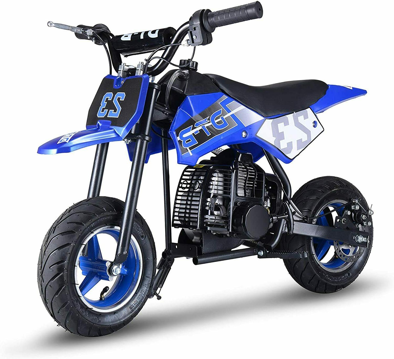 mini gas power dirt bike motorcycle ride