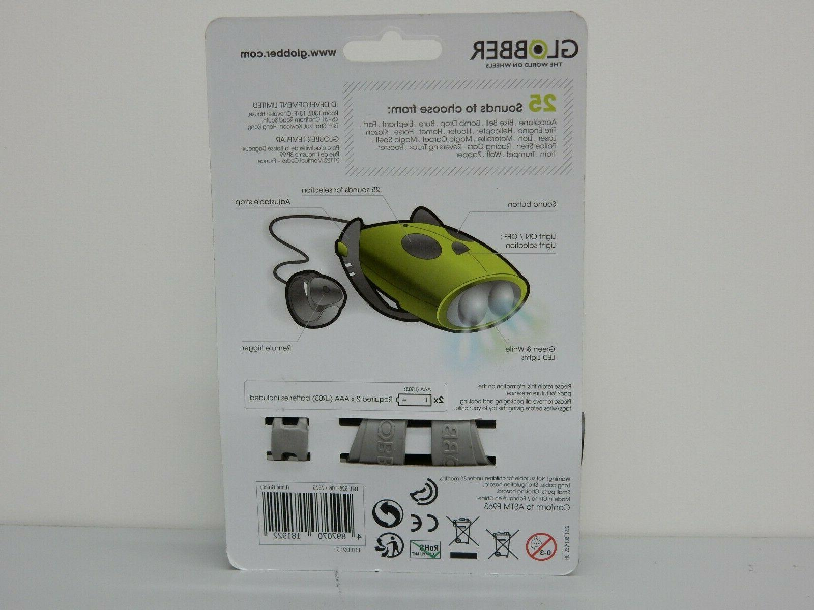 Globber Mini LED Scooter & Accessory -