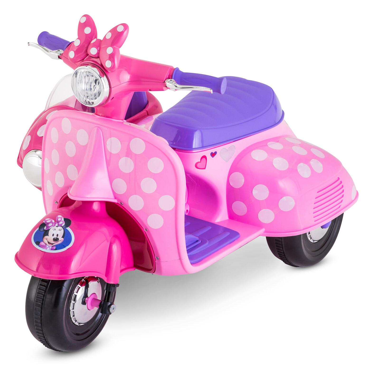 Minnie Mouse On Toy For Girls Sidecar Toddler
