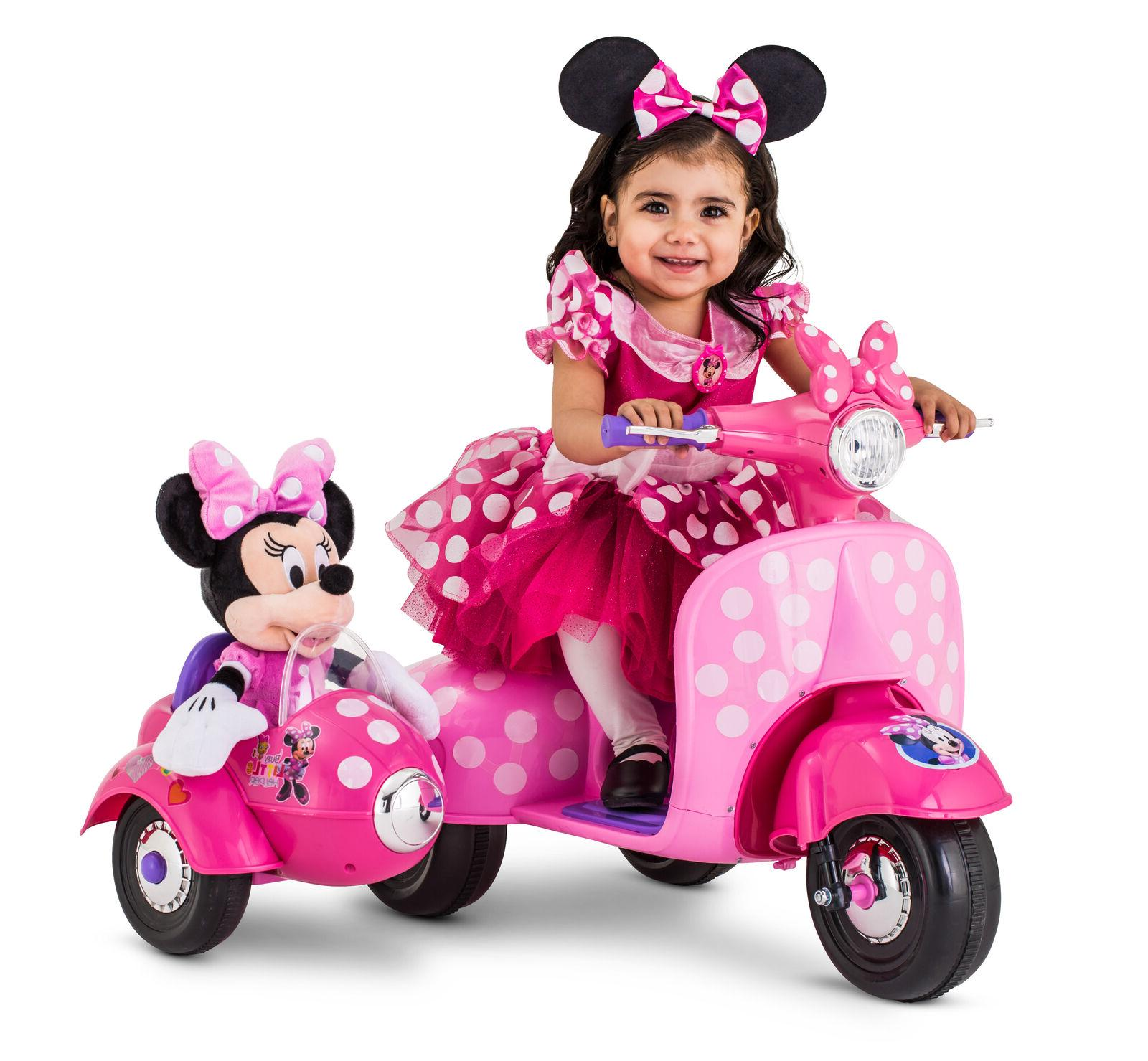 minnie mouse scooter ride on toy
