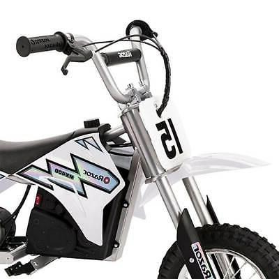 Razor 24V Motorcycle Dirt White