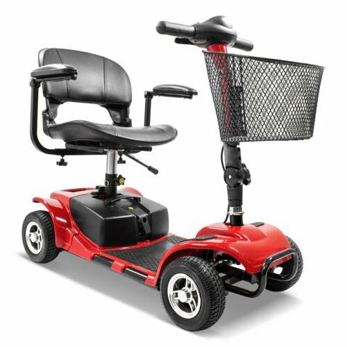 4 Wheel Mobility Scooter Electric Power Mobile Wheelchair fo