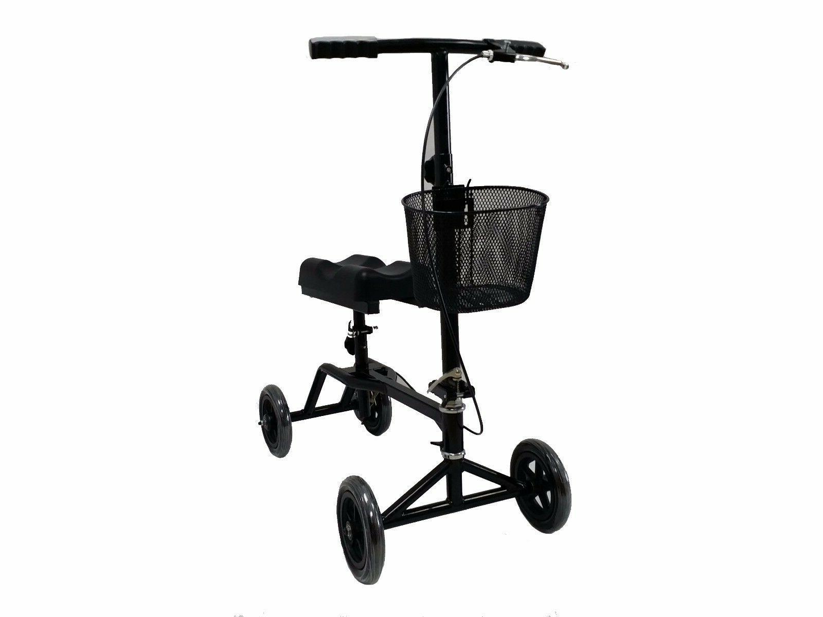 New Knee Walker Scooter Brake Basket Drive