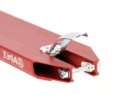 NEW APEX Red Push Freestyle Trick Parts -