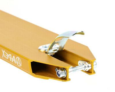 NEW APEX Gold Scooter Trick Deck - Parts