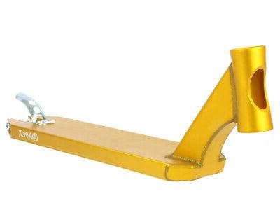 new deck 600mm gold scooter push freestyle